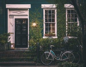 Visokotlačni čistilnik omogoča vzdrževanje lične okolice hiše.